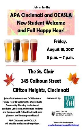 Apa Cincinnati Fall Happy Hour 2017